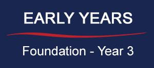 Early Years: Foundation - Year 3