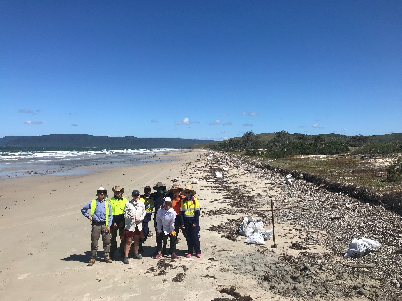 Cape Bedford Clean-up